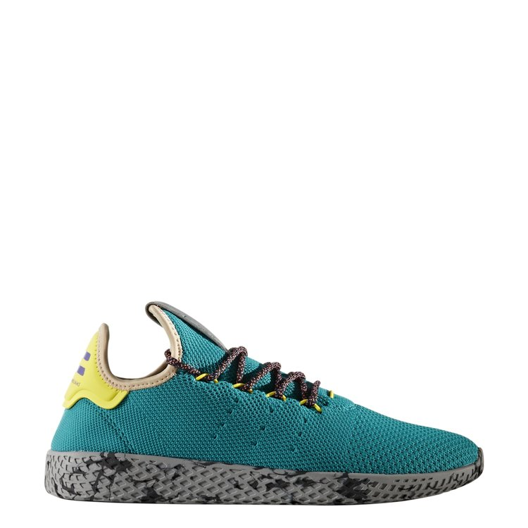 994e95f9e Adidas X Pharrell Williams Tennis Hu in Teal Semi Frozen Yellow Grey. sale