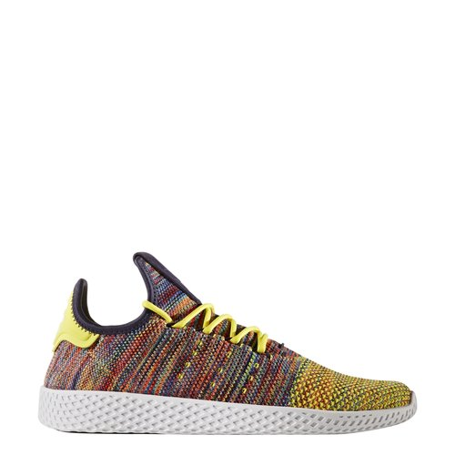 7129379af Adidas X Pharrell Williams Tennis Hu in Semi Frozen Yellow Noble Ink White  — MAJOR