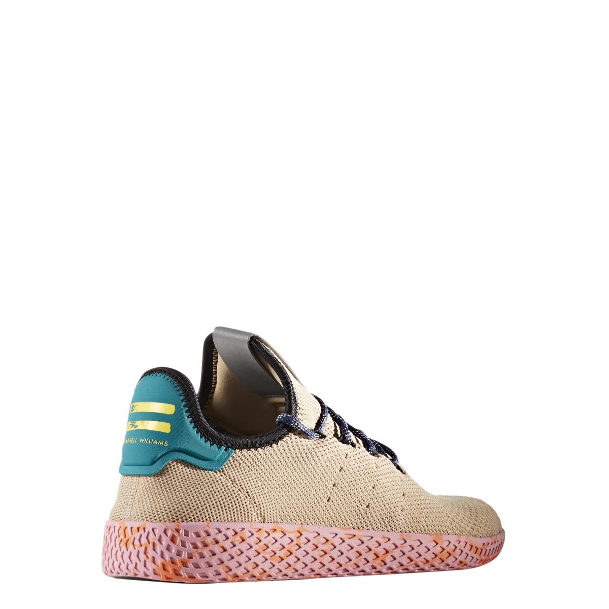 b10bc9fe6 Adidas X Pharrell Williams Tennis Hu in Tan Teal Pink Marble — MAJOR
