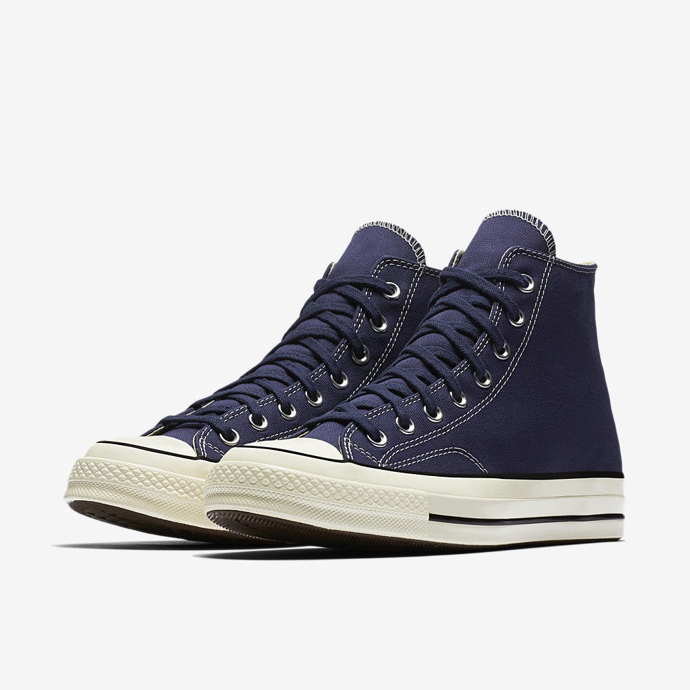 converse all star hi canvas navy