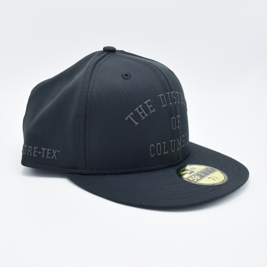 New Era x MAJOR The District of Columbia Gore-Tex 59Fifty Fitted in Black dab5cba294ea