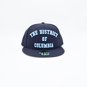 40fba49f5ef MAJOR x New Era The District of Columbia 59Fifty Fitted in Navy University  Blue ...
