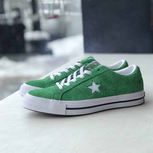 2476e814b25a Converse One Star Premium Suede Low in Green. IMG 8748.jpg