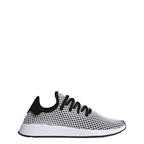a7a9111375d74 Adidas Deerupt in Black White Blue. CQ2626.jpg