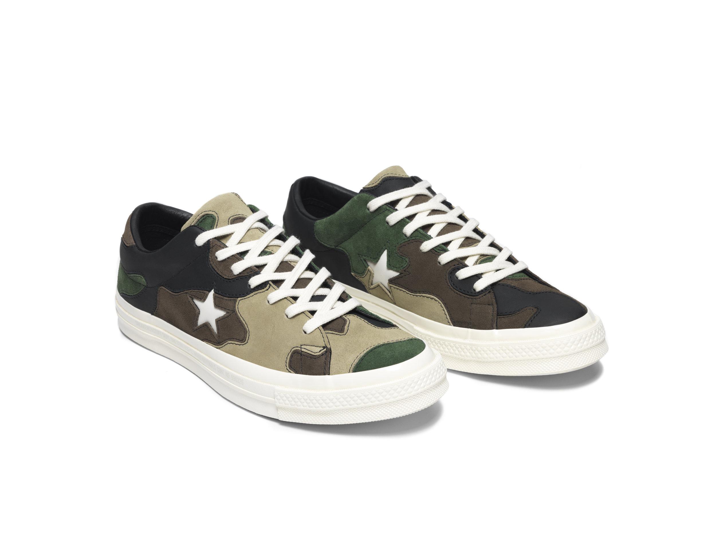 cbf34e0bdd427 Converse x Sneakersnstuff One Star Ox in Camo — MAJOR
