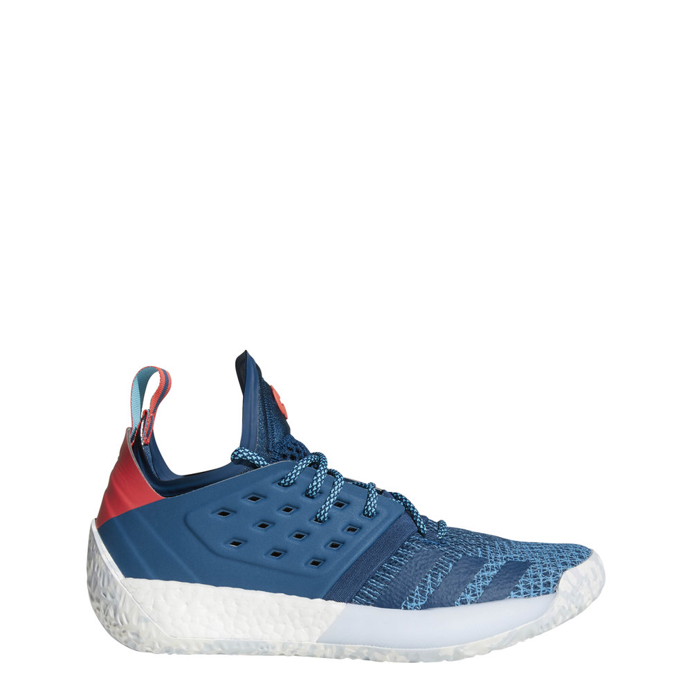 e5ad5d628 ... discount adidas harden vol. 2 basketball shoes in blue night shock red.  ah2216 fbd57