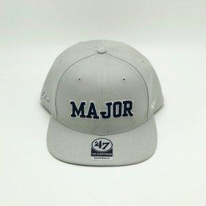 a51c64ecfdef3 47 x MAJOR No. 1 Draft Pick Snapback Cap in Grey Navy ...