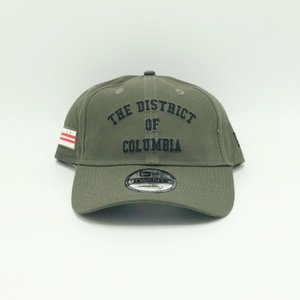 MAJOR x New Era The District of Columbia Dad Hat in Olive ... 4428cce0fcfb
