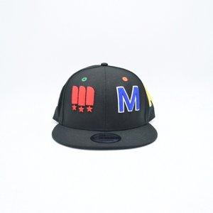 MAJOR x New Era METRO Snapback in Black Multi ... a44aeefec412