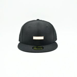 MAJOR x New Era The Classic Metal Bar Logo 59Fifty Fitted in Black Rose Gold  ... fe62bbebcbeb
