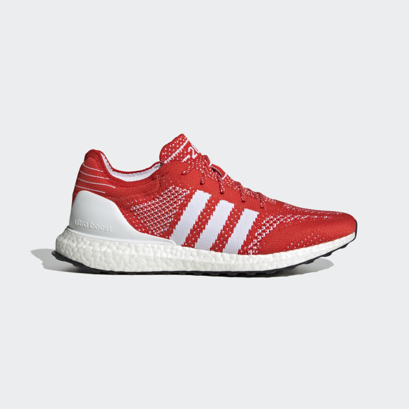 Adidas UltraBoost DNA Prime in Active Red/White — MAJOR