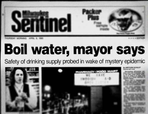 Milwaukee Headlines Cryptosporidium Boil Water
