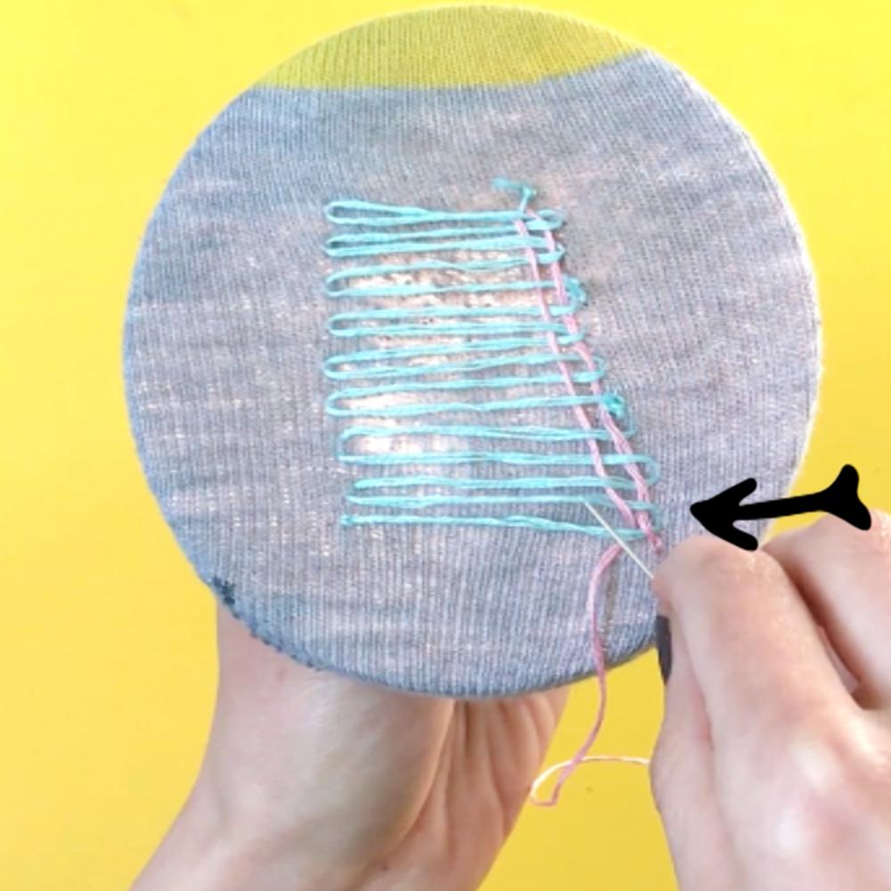 repairing your sock