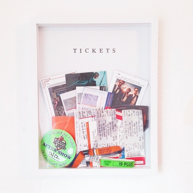ticket frame