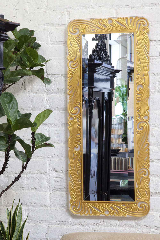 Gold Swirl Prisma Mirror
