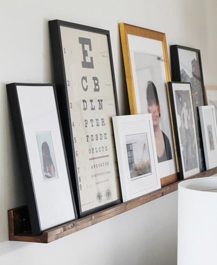 Frame It: Picture Ledges — Chicago Frame Shop | Artists Frame Service