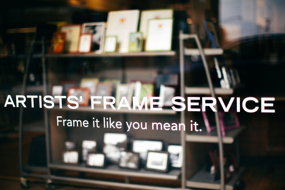 Artists Frame Service Lincoln Park