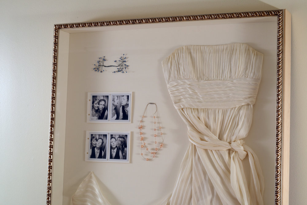 Custom Framed Wedding Dress