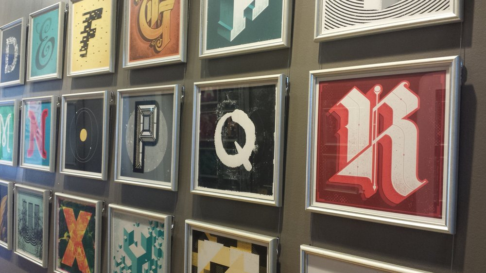 Framed Letter Art