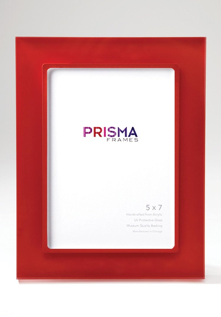 Tomato Prisma (Clear and Sanded) — Chicago Frame Shop   Artists ...