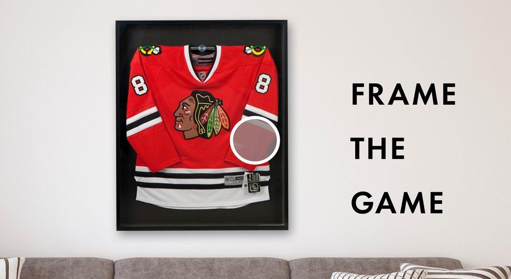 035e6494456 Chicago Sports Memorabilia Framing — Chicago Frame Shop