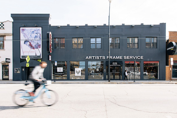 Fast forward 40 years - we're a bit bigger (and just down the street at 1867 N. Clybourn) and we've got many more neighbors. So much so that in fact Jay now has an honorary street named  Jay Goltz Way  - to thank him for helping to turn Clybourn Corridor into the vibrant shopping district it is today.  We also now have another showroom up in  Highland Park , and are working on a third  River North  location opening this summer! After 40 years, we have no plans of slowing down.