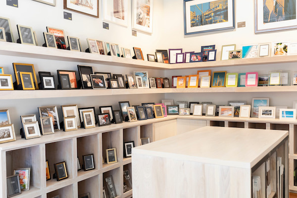 There's no shortage of photo frames either - from  muted metallics  to  bright acrylics  to our own unique line of  ready-made gallery frames .