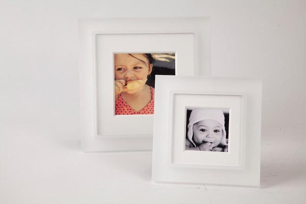 Have a pocket full of photos tucked away in your phone? We all do. Browse our  square photo frame  options that make framing those Insta-shots an Insta-breeze.    Snow White Prestige Prisma (Clear and Sanded) | From $56.00