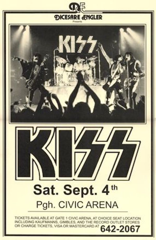 The 1970s were all about the poster. From museum shows to rock shows, everyone was rocking a poster on the wall. Metal frames were particularly in vogue then too, allowing the graphic art to take center stage.    Image via Pinterest.