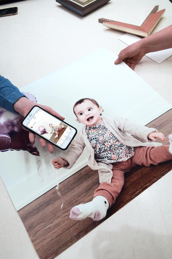 Like we've said before,  it starts with something special . And obviously this little girl is pretty special. With our professional  digital printing services , we can turn any Insta-shot into a frame-worthy moment.