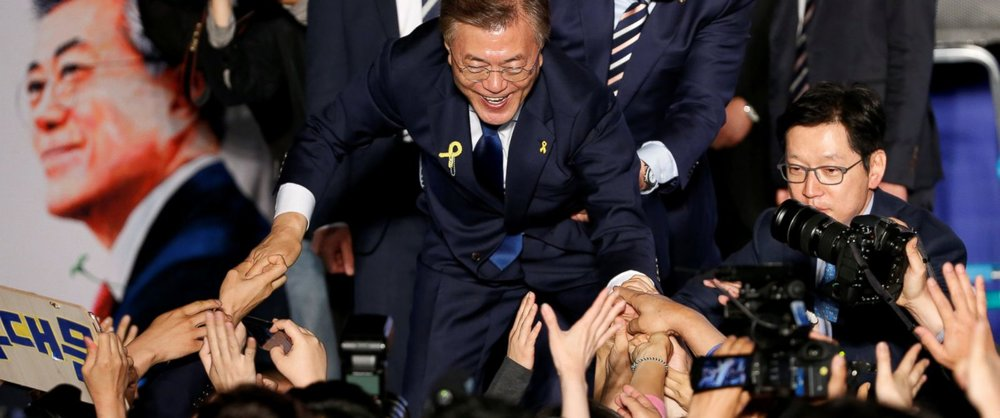 Progressive Moon Jae-in elected in South Korea - Ferret out this news story