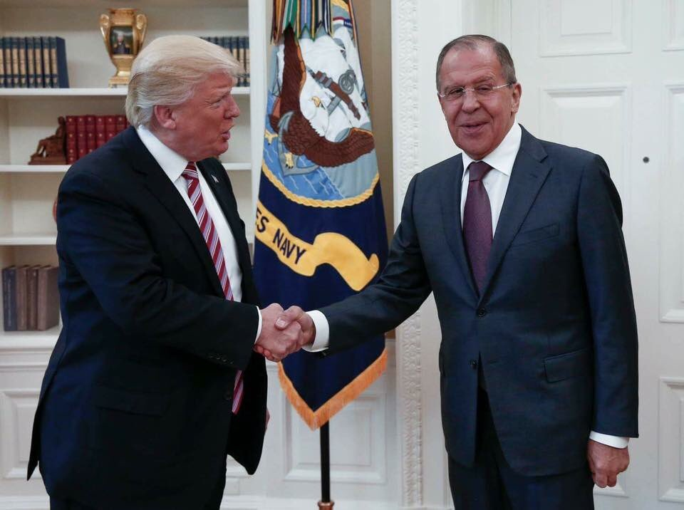 Trump meets Russian Foreign Minister Lavrov amid Comey firestorm - Ferret out this news story