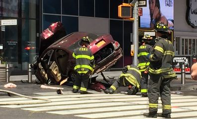 1 dead, 19 injured after car plows into pedestrians; one person in custody - CLICK HERE TO FERRET OUT THIS STORY