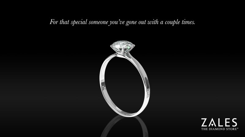 Zales Introduces New Line Of Casual Dating Diamond Rings - See the prespectives on this story