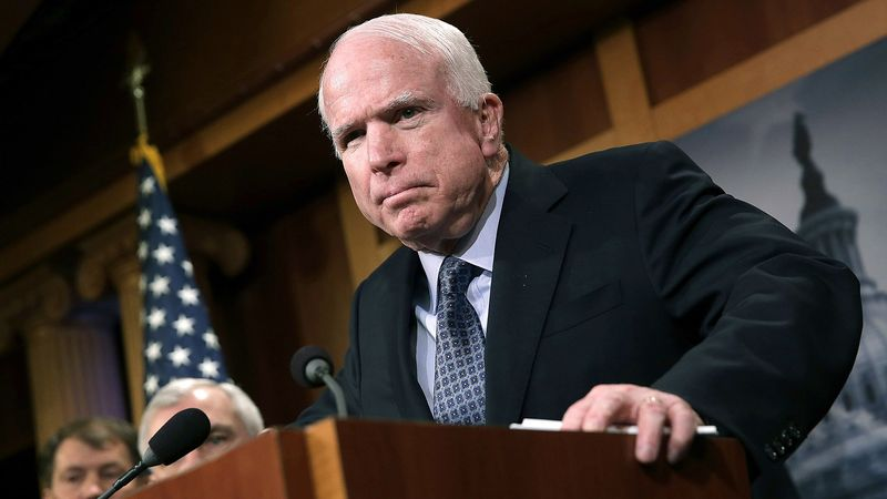 John McCain Demands Immediate Investigation Into Why He Remaining Complicit - CLICK HERE TO FERRET OUT THIS STORY