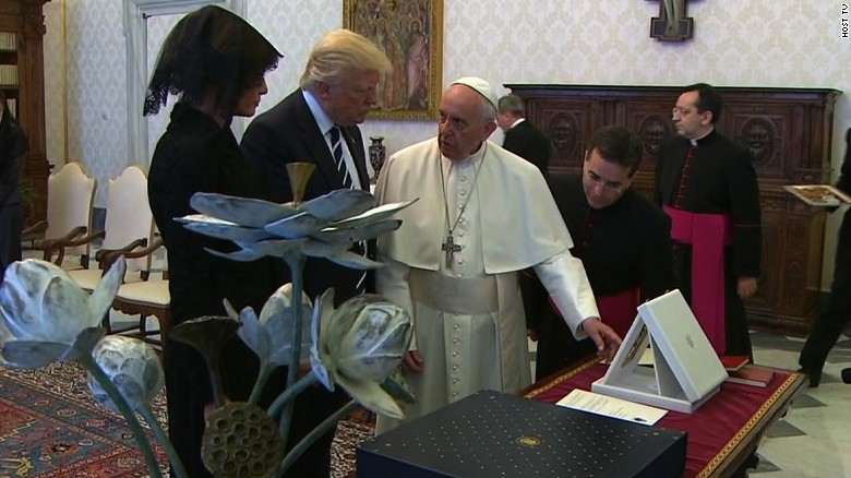 Pope-Trump meeting agenda: Climate change, terrorism - See perspective on this story