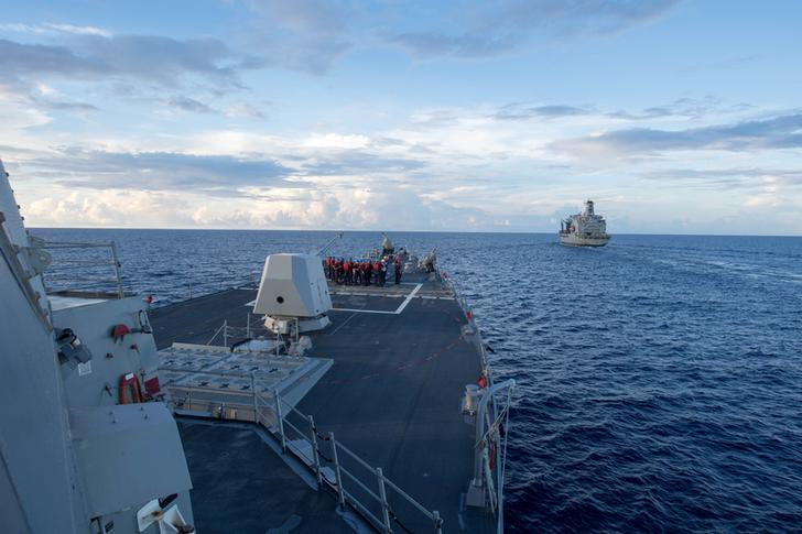 U.S. warship challenges South China Sea claims - See perspectives on this story