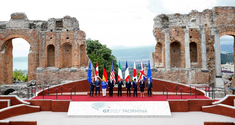 Trump and other leaders clash on trade, climate at G7 - See perspectives on this story