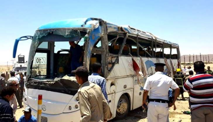 Masked gunmen kill 28 in attack on Christians in Egypt - See perspective on this story