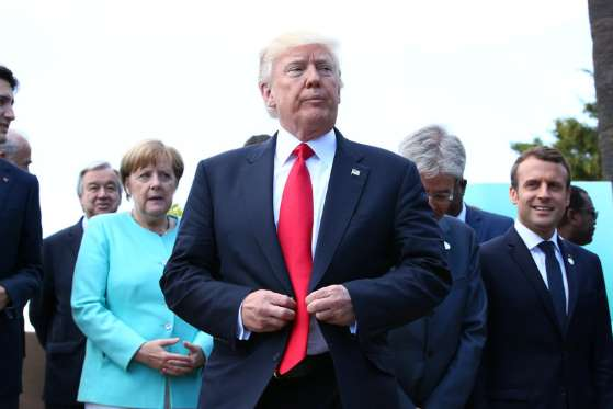 European allies see the two sides of Trump - See perspective on this story