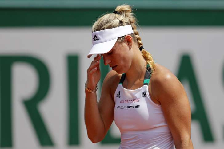 Upset! Kerber 1st French Open top seed to lose in 1st round - CLICK HERE TO FERRET OUT THIS STORY
