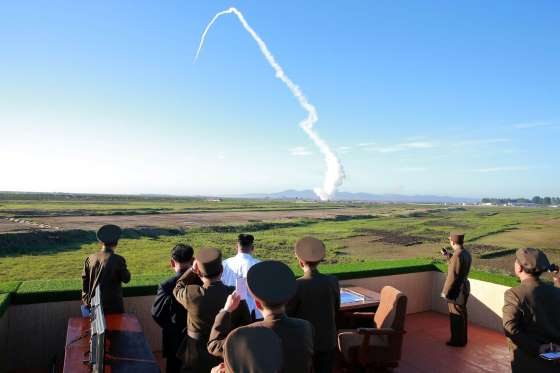 North Korea leader Kim guides test of new anti-aircraft weapon - See perspectives on this story