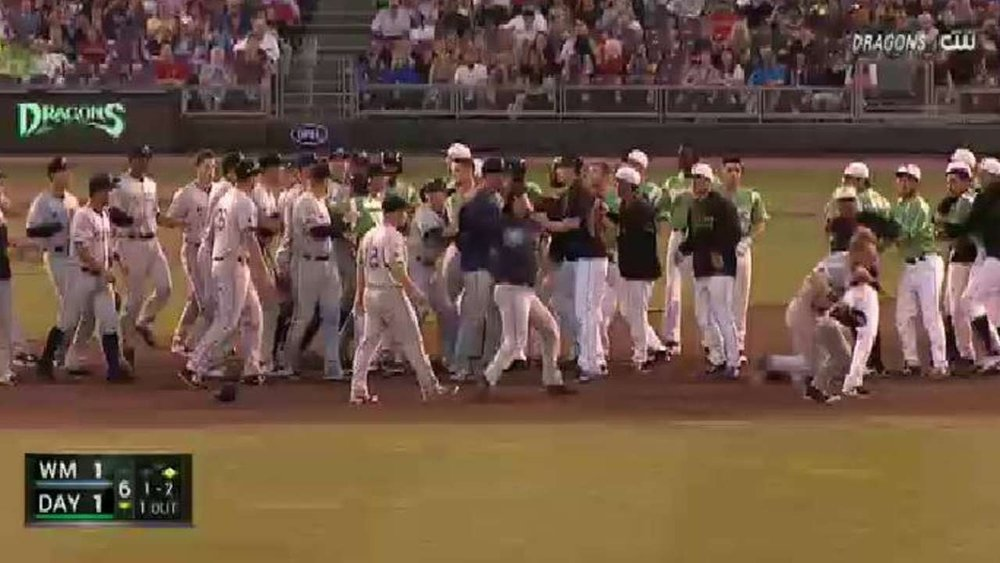 Minor League Brawl Features Some of the Dirtiest Stuff Possible - See perspectives on this story