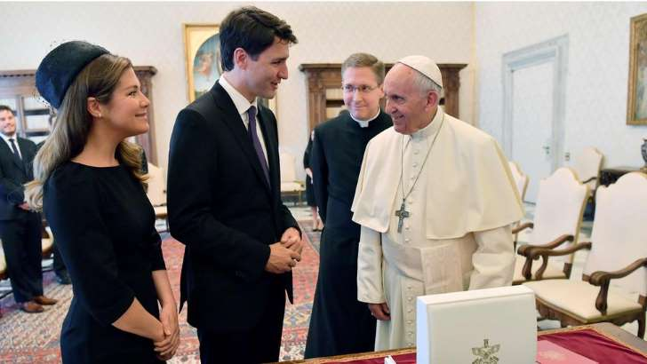 Justin Trudeau asks Pope for apology