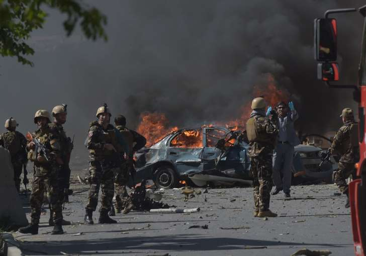Huge bomb in sewage tanker kills at least 80, wounds hundreds in Afghan capital