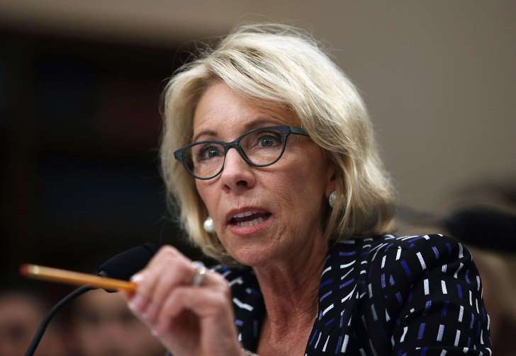 DeVos: Education cuts 'alarming' but necessary - See perspective on this story