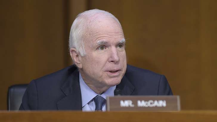 John McCain Blames His Confusing Comey Questions on Late Diamondbacks Games - See perspectives on this story