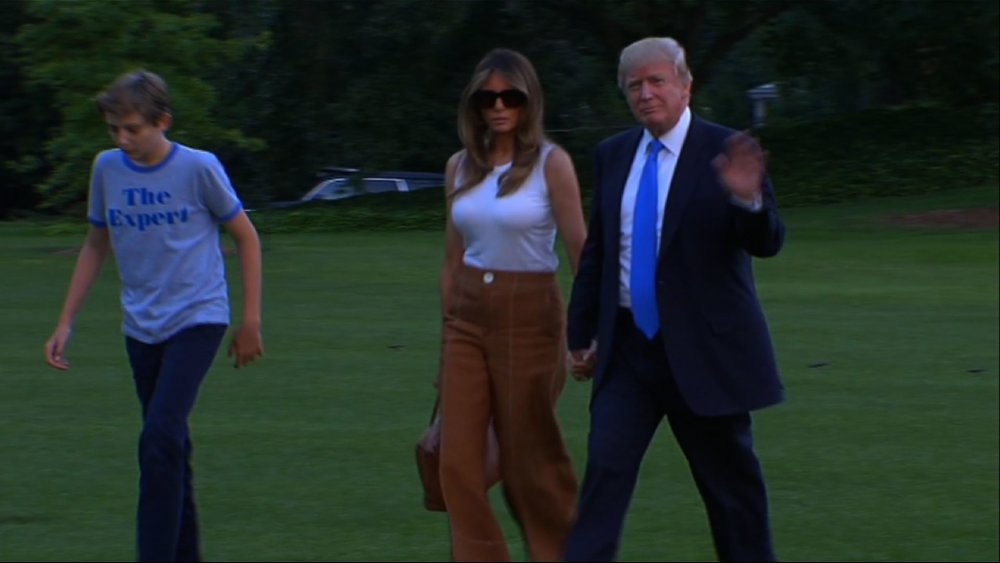 Melania Trump, son Barron move into the White House - CLICK HERE TO FERRET OUT THIS STORY