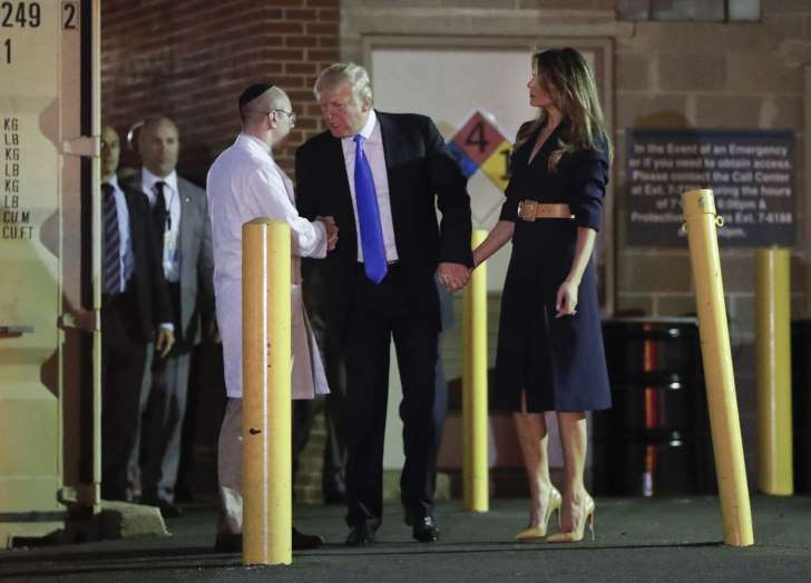 Donald Trump Visits Steve Scalise in Hospital, Condition Listed as 'Critical' - See perspective on this story