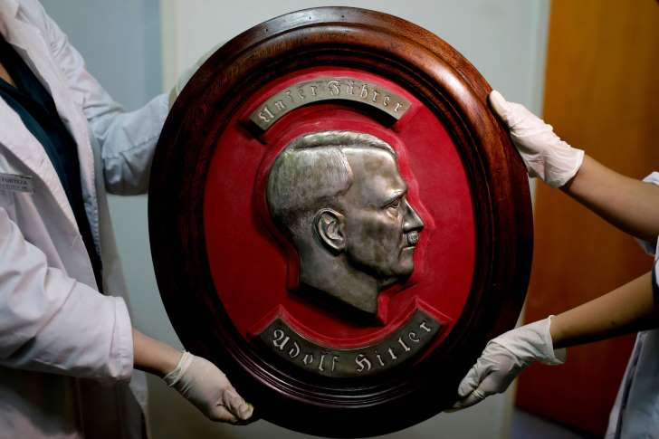 Hidden trove of suspected Nazi artifacts found in Argentina - See perspectives on this story